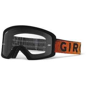 Giro Tazz MTB Goggles black/red hypnotic/amber/clear